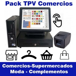 Pack TPV ECO1 Tactil Comercios