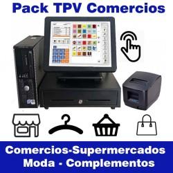 Pack TPV ECO1 Tactil Comercios