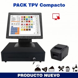 Pack TPV X-800 Táctil Bares...