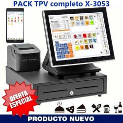 PACK TPV HOSTELERÍA X-3053...