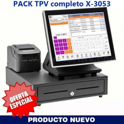 PACK TPV COMERCIOS X-3053