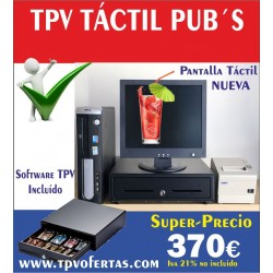 Pack TPV ECO1 Tactil Pub´s