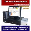 Pack TPV ECO1 Tactil Bares & Restaurantes (CANARIAS)