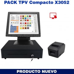 TPV X-800 Táctil Compacto